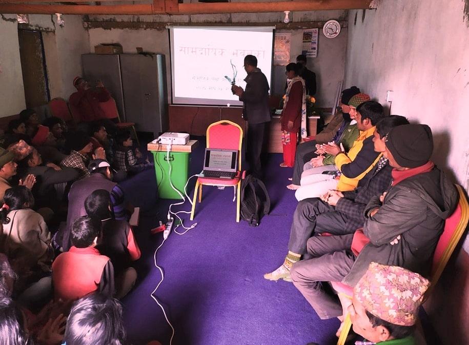 लगानी कम श्रमदान बढीः छेपाडीमा सामुदायिक भवनको सामाजिक लेखापरिक्षण सम्पन्न image
