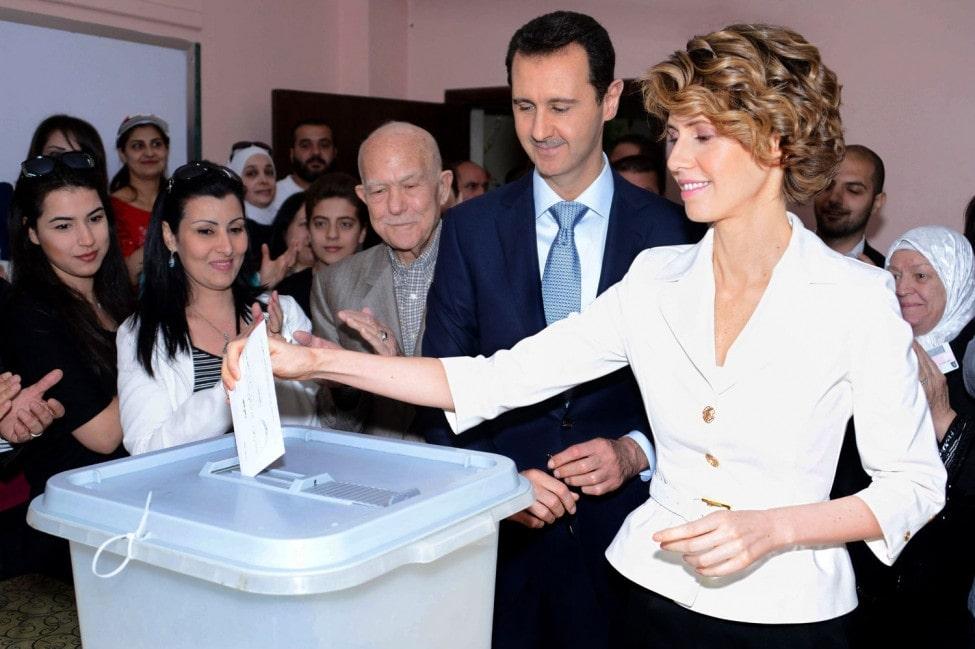 सिरियामा राष्ट्रपतिका लागि निर्वाचन शुरु image
