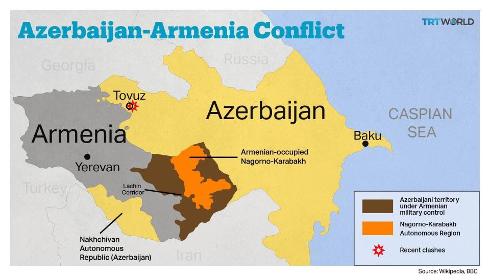 फेरी आर्मेनिया र अजरबैजानबीच युद्ध image