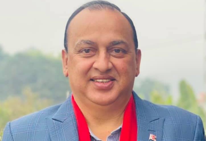 कांग्रेस नेता भण्डारी अस्पताल भर्ना image