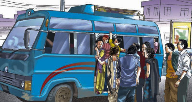 बढी भाडा लिने ७७ सार्वजनिक यातायात कारवाहीमा image