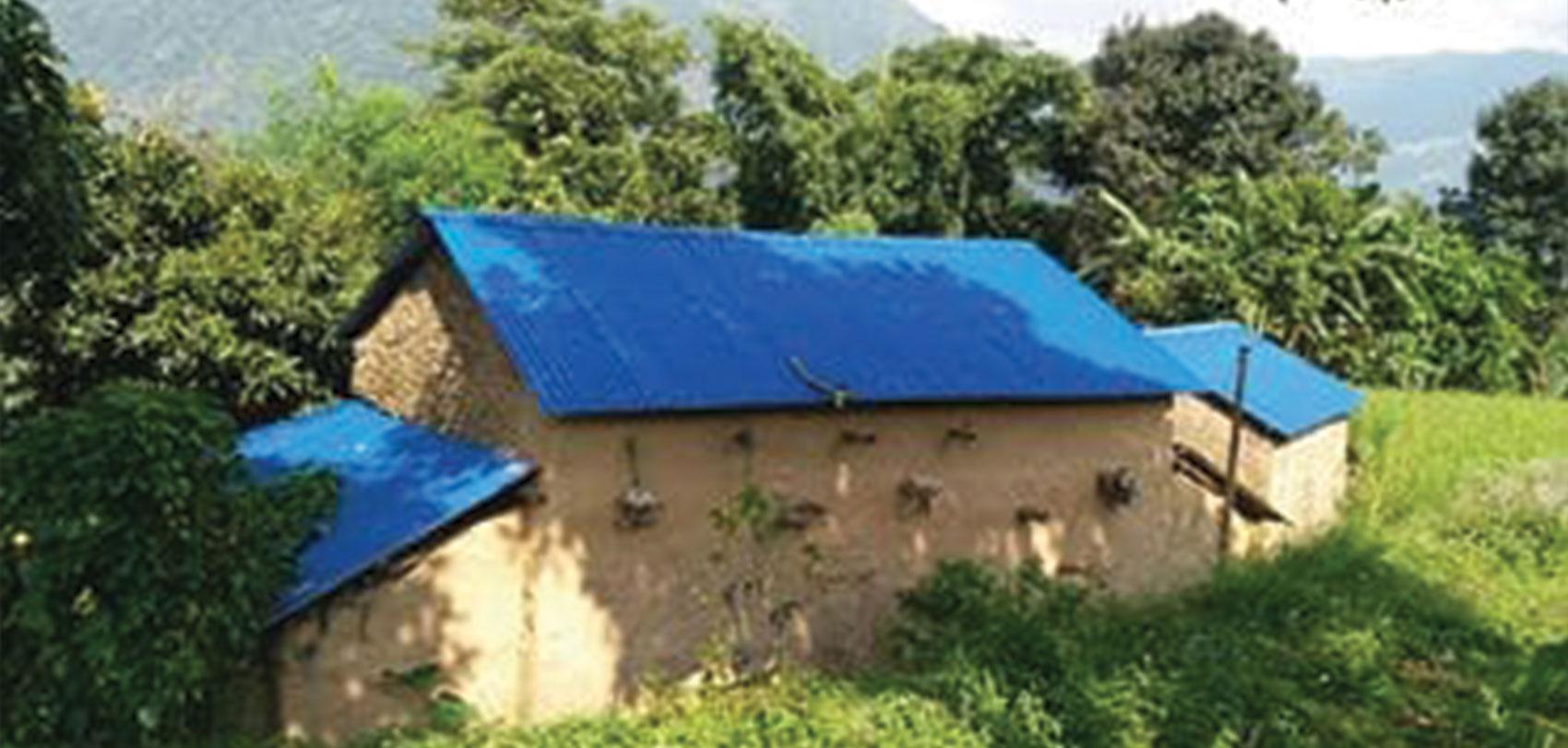 'अब त बाचुन्जेल घरको छाना फेर्न नपर्ला' image