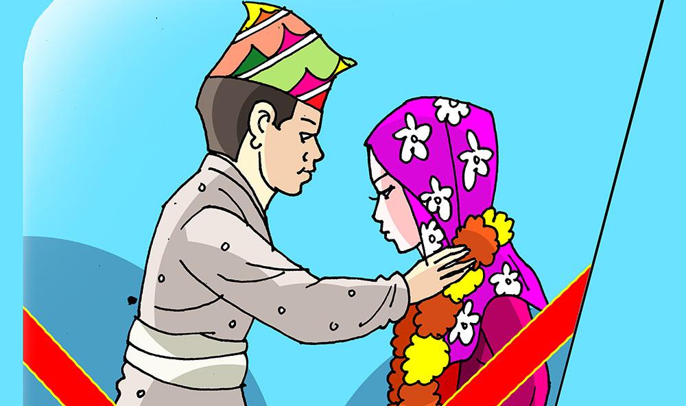 विद्यालय उमेरमै विवाह image