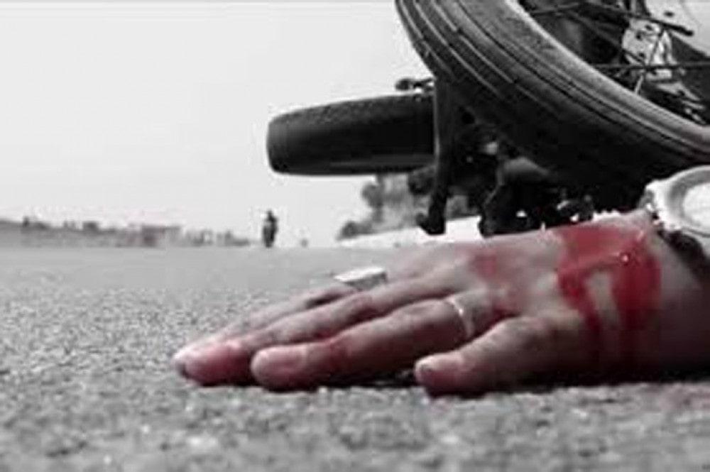 मोटरसाइकलको ठक्करबाट मृत्यु image